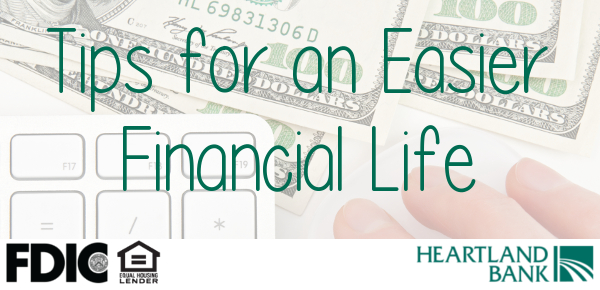 Simplify your finances with these tips.